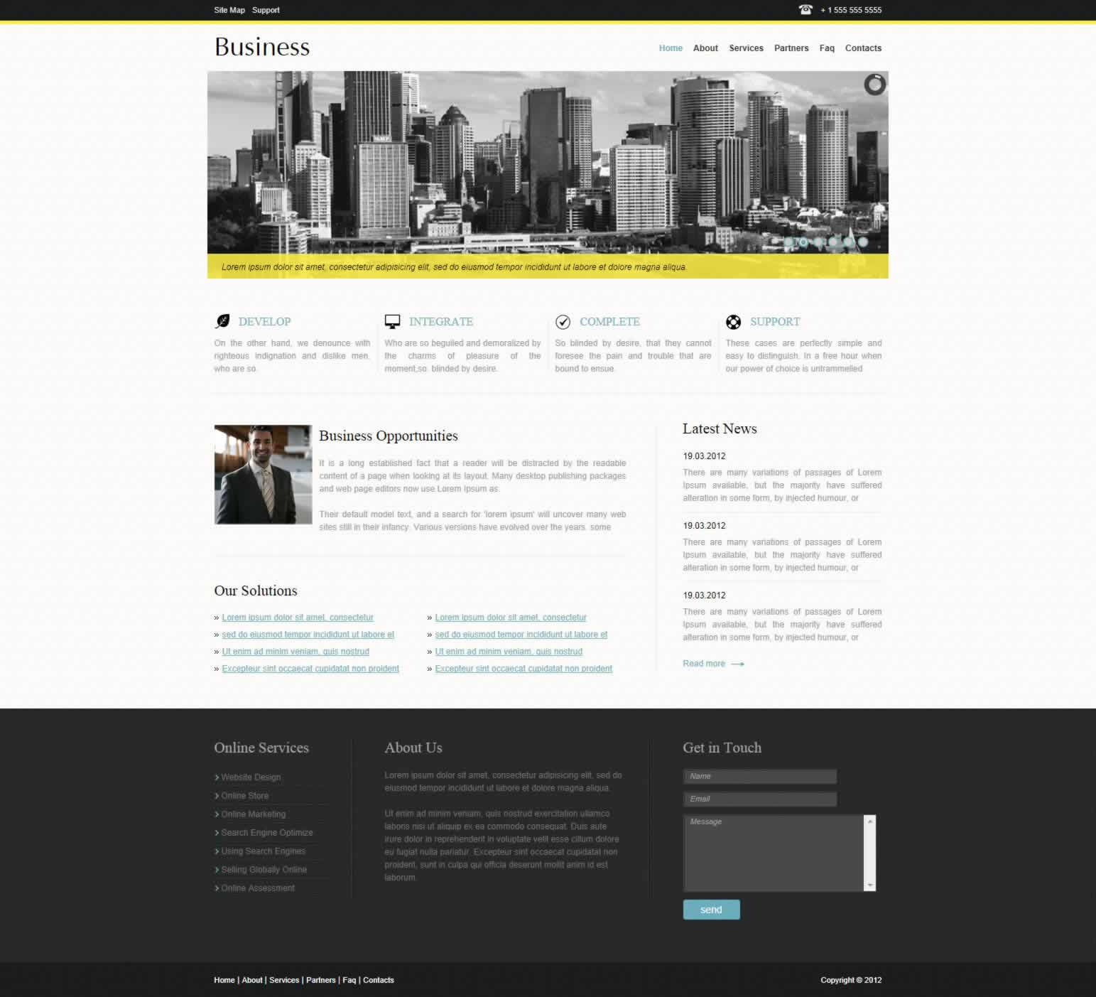 Business Look Design