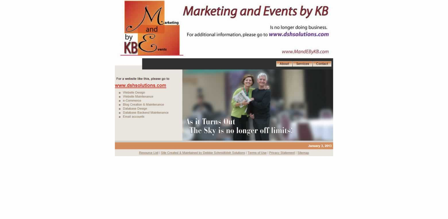 Marketing and Events by KB