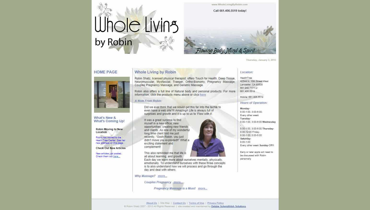 Whole Living By Robin